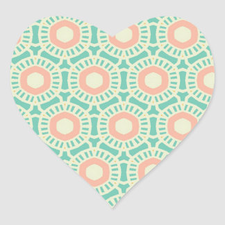 Fabulous Fortunate Tops Classical Heart Sticker