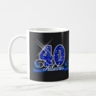 Fabulous Forty Sparkle ID191 Coffee Mug