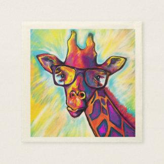 Fabulous Giraffe Cocktail Napkins Paper Napkin