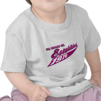Fabulous Girl established 1970 T Shirt