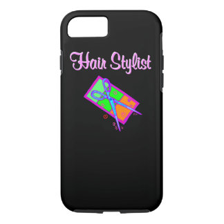 FABULOUS HAIR STYLIST HAIR CUT DESIGN iPhone 7 CASE