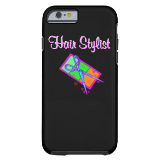 FABULOUS HAIR STYLIST HAIR CUT DESIGN TOUGH iPhone 6 CASE