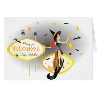 Fabulous Halloween Card