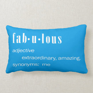 Fabulous Me Lumbar Pillow