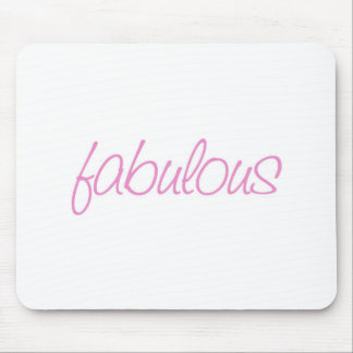Fabulous Mousepad in Pink
