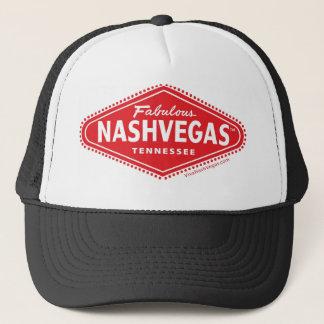 Fabulous NASHVEGAS TM Diamond Logo Trucker Hat! Trucker Hat