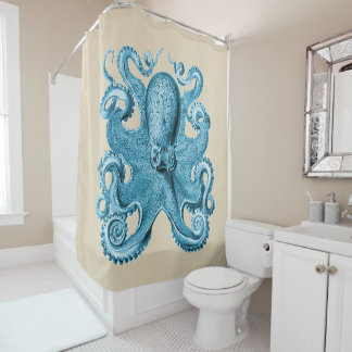 Fabulous Octopus Blue/ Teal