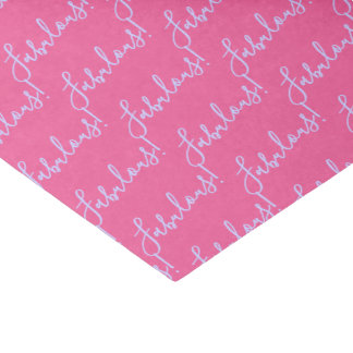 Fabulous Pink Celebration Party Tissue Paper