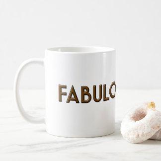 Fabulous & Pink White Mug