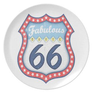 Fabulous Rt. 66 Plate