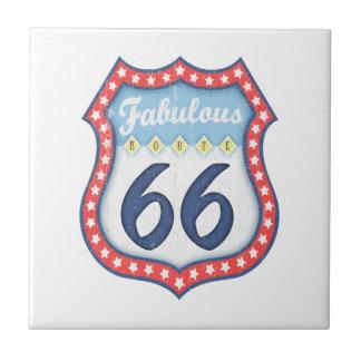 Fabulous Rt. 66 Tile