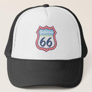 Fabulous Rt. 66 Trucker Hat