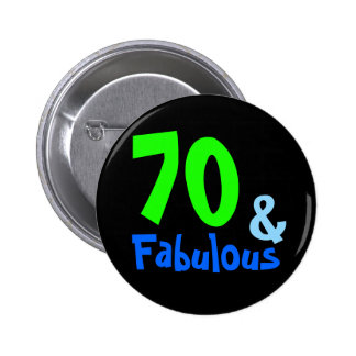 Fabulous Tropical Birthday 2 Inch Round Button