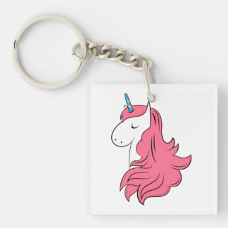 Fabulous Unicorn Keychain