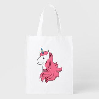 Fabulous Unicorn Reusable Grocery Bag