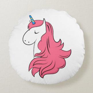 Fabulous Unicorn Round Pillow
