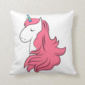 Fabulous Unicorn Throw Pillow
