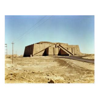 Façade du nord-est du ziggurat, c.2100 AVANT JÉSUS Carte Postale