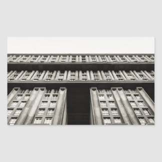 Facade of a monumental residential building I Sticker