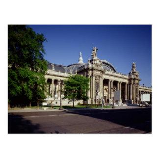 Facade of the Grand Palais Postcard