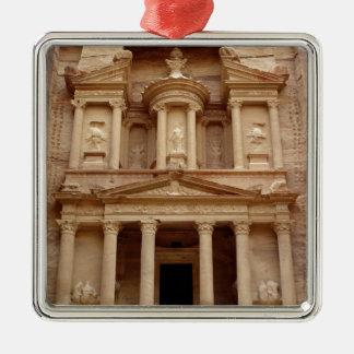 Facade of the Khazneh Firaoun Metal Ornament