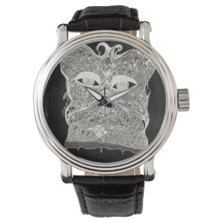 facbehind the lace vintage watch