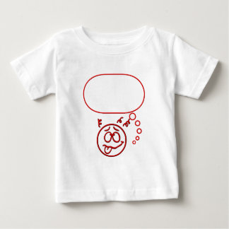 Face #3 (with speech bubble) baby T-Shirt