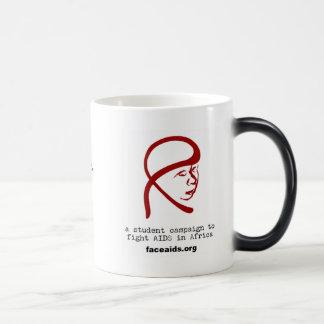 FACE  AIDS morphing mug