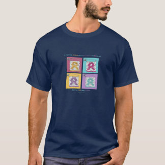 FACE AIDS Style Pins T-Shirt
