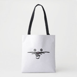 Face and Tail Tote Bag