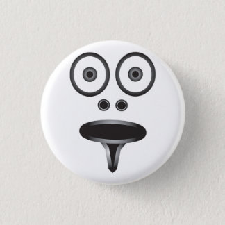 Face Badge 1 Inch Round Button