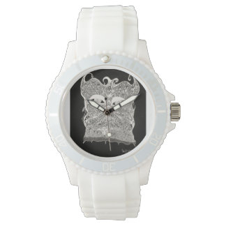 face behind the lace ladies watch