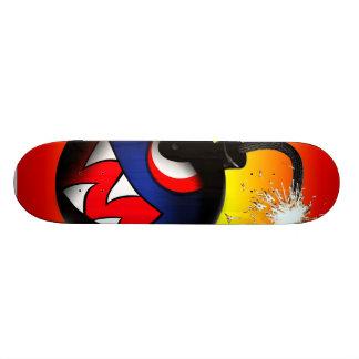 face bomb hot custom skate board