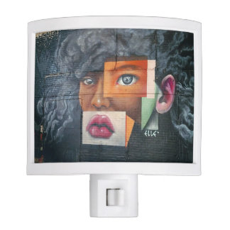 Face Collage Night Light