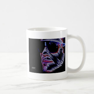 FACE - Digitally Artwork Jean Louis Glineur Coffee Mug
