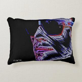FACE - Digitally Artwork Jean Louis Glineur Decorative Pillow