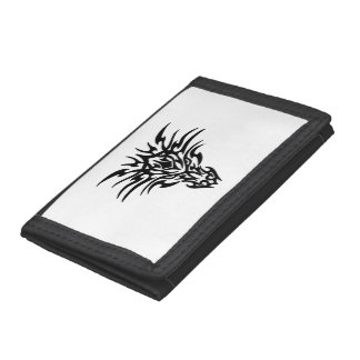 Face-Dragon-Tattoo Tri-fold Wallets