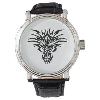 Face-Dragon-Tattoo Watch