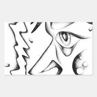 Face drawing sketch art handmade