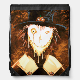 Face Drawstring Bag