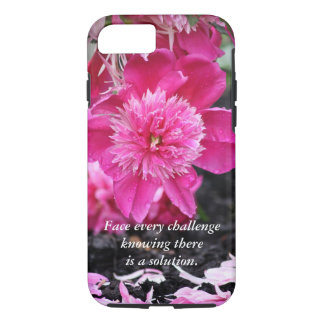 Face every challenge...Peony Case-Mate iPhone Case