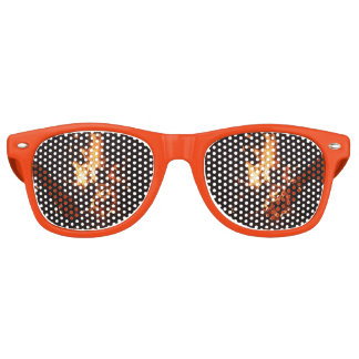 Face in the Flames Party Glasses Party Sunglasses