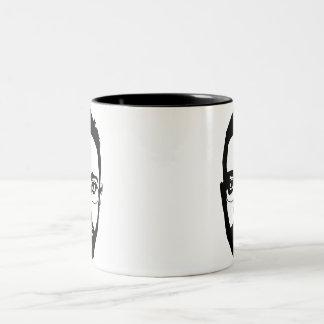 Face (mug) Two-Tone coffee mug