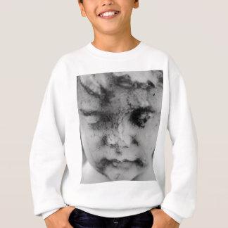 Face of a cherub sweatshirt