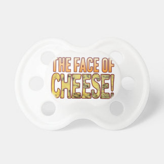 Face Of Blue Cheese Baby Pacifiers