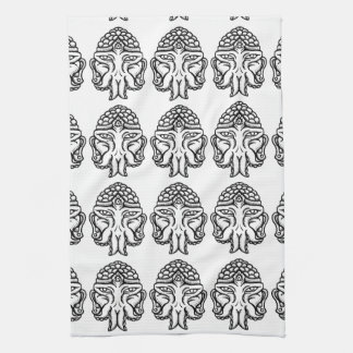 Face of Cthuda Kitchen Towel