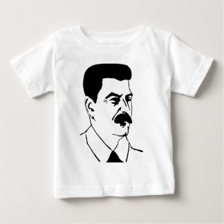 Face Of Joseph Stalin Baby T-Shirt