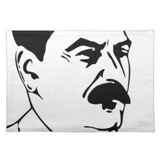 Face Of Joseph Stalin Placemat