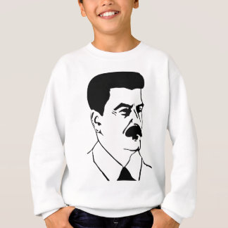 Face Of Joseph Stalin Sweatshirt