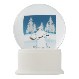 Face Off Snow Globe